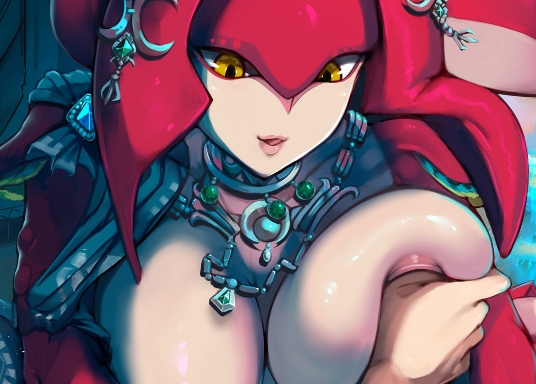 More Mipha Hentai Is Here and She's Bustier Than Ever!