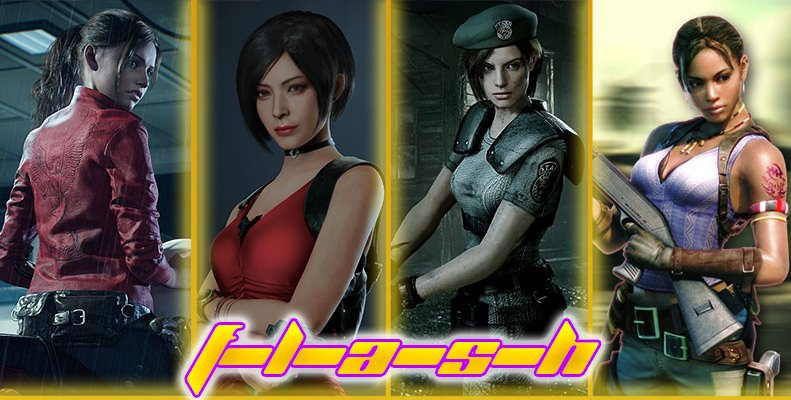 The Resident Evil Hentai Flash Poll Is Live! (Ends 10/03/21)